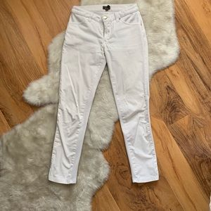Jaanuu white scrub bottoms size extra small